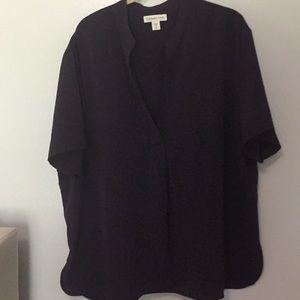 Coldwater creek ladies short sleeve blouse